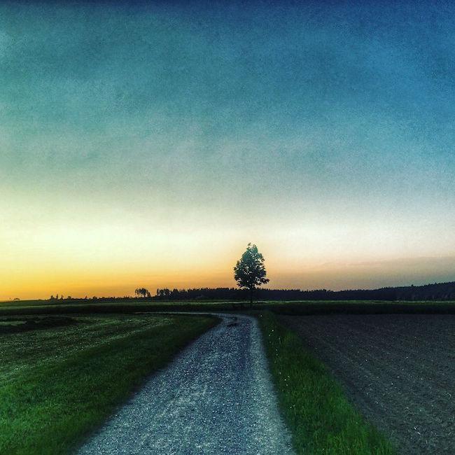 Vom Einatmen und Ausatmen: Was der Sonnenuntergang mit meiner Arbeit zu tun hat.
