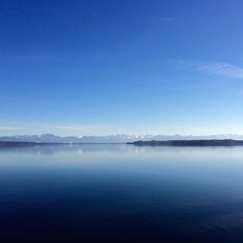 Starnberger See im Frühling