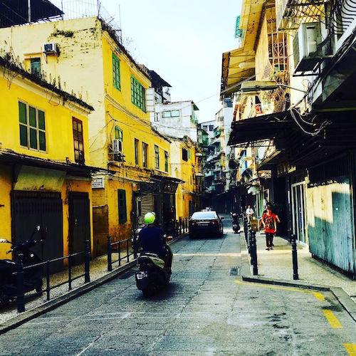 Straße in Macao