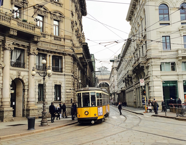Straßenbahn in Mailand