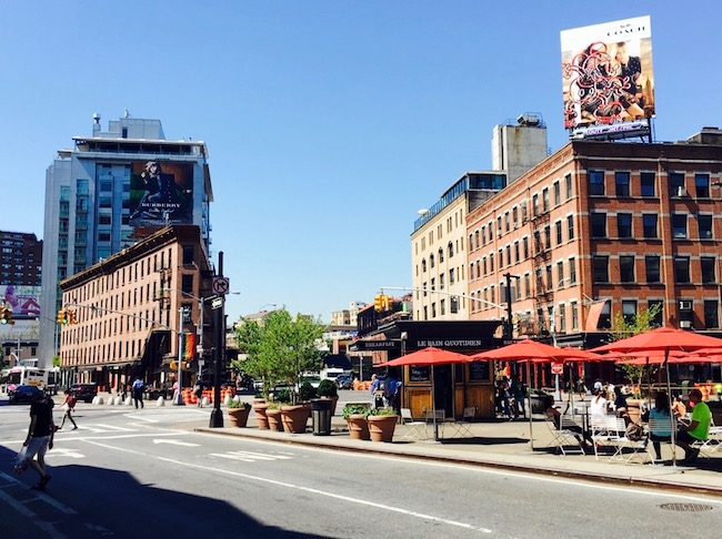 Sommer im Meatpacking District
