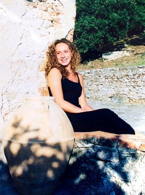 Tamina Kallert 1998 in der Sonne
