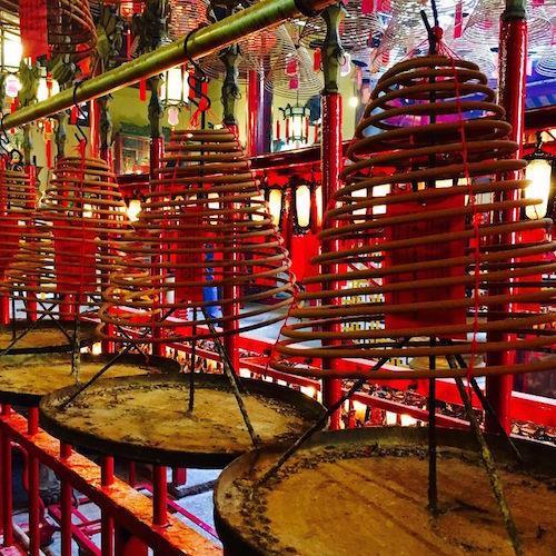 Tempel in Hongkong