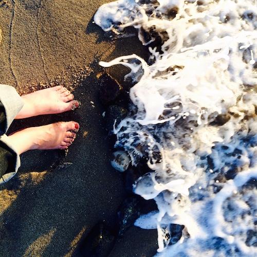 Wellen am Darß