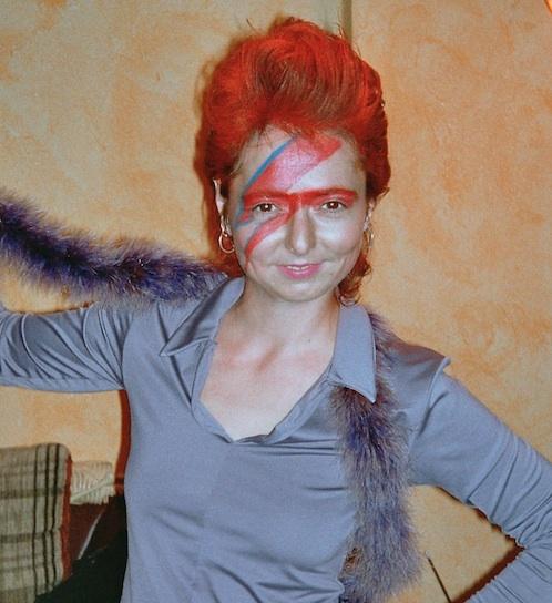 Tanja Schumacher als Ziggy Stardust