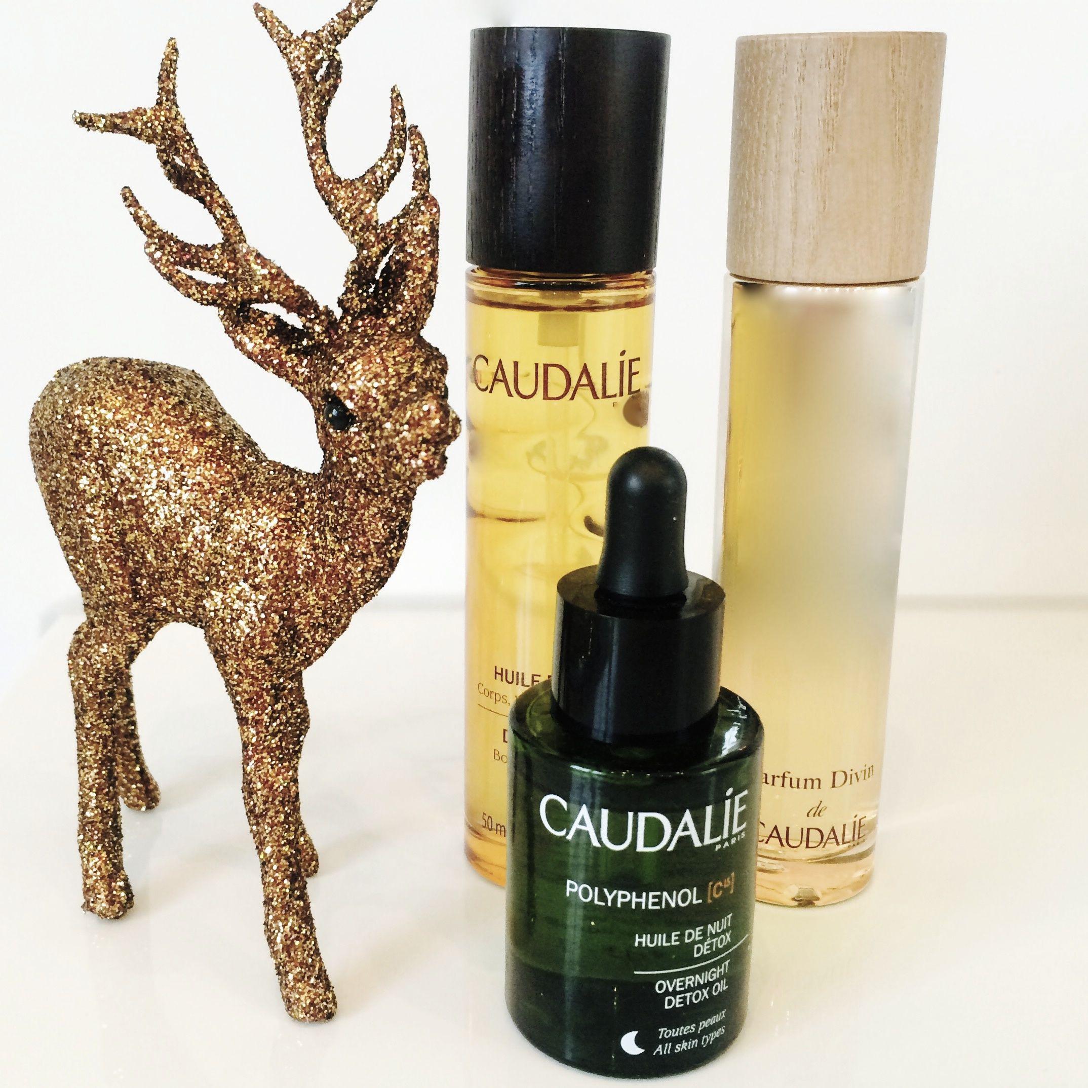Gewinnspiel mit Caudalie: Huile divine, Parfum devin und das Detox-Nachtöl zu gewinnen!