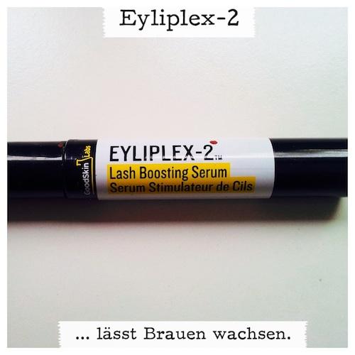 Wimpernserum Eyliplex Lash Boosting Serum lässt Augenbrauen nachwachsen