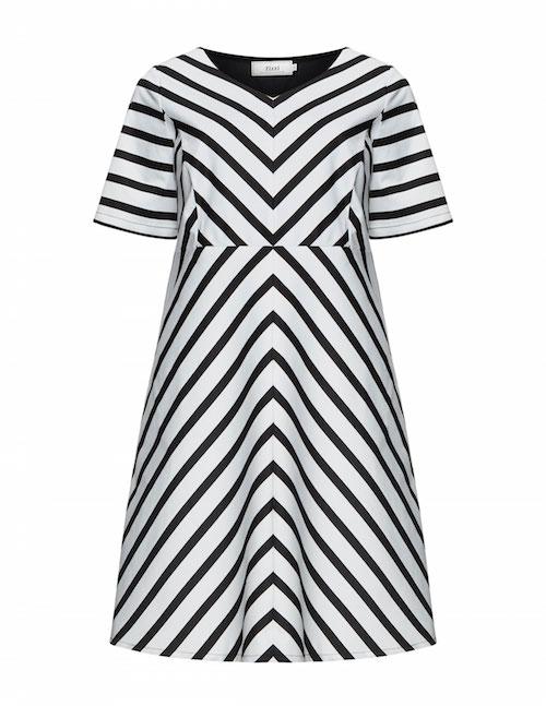 Zebra-Kleid von Zizzi