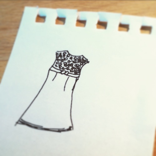 Ute Blindert zeichnet ihre Lieblingsklamotte