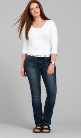 Lässige Straight Cut Jeans von My Star Denim