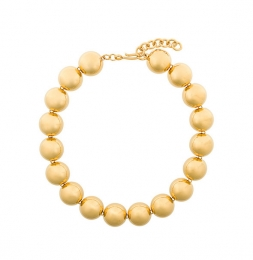 Vintage Collier in Gold von Monet