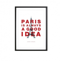 Paris is always a good idea. (Audrey Hepburn)