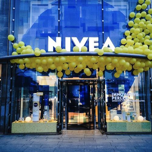 Das NIVEA Haus in Hamburg
