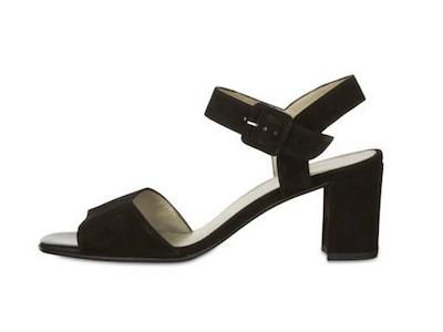 schwarze Sandalen von Peter Kaiser