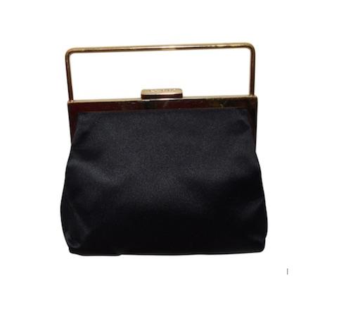 schwarze Tasche von GUCCI (Vintage)